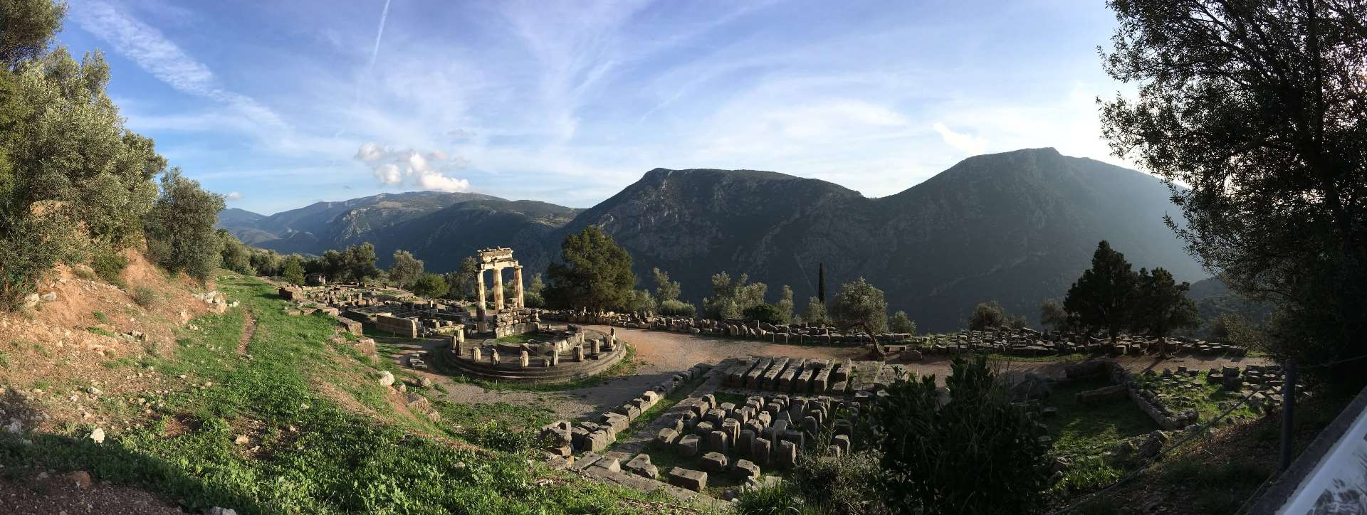 Taking my kids to the Oracle of Delphi